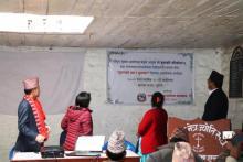 राष्ट्रिय सूचना आयोगका प्रमुख आयुक्त श्री कृष्णहरि वाँस्कोटा ज्यू तथा चन्दननाथ नगरपालिका पदाधिकारी/सदस्य वीच सूचनाको हक र सुशान विषयक अन्तरक्रिया कार्यक्रम